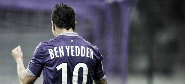 Ben Yedder, tras marcar un gol. Twitter