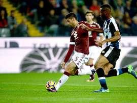 El Torino tropieza ante el Udinese. TorinoFC