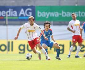 Jahn Regensburg salvaged a point at the death. Twitter/Bundesliga_DE