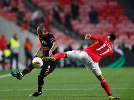 Benfica apurou-se para os oitavos da Liga Europa. Twitter@GalatasaraySK