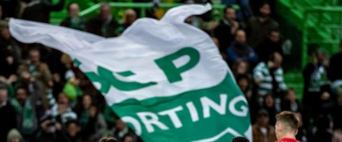 O Benfica venceu o Sporting na Luz. Twitter @Sporting_CP