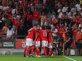 Benfica recebe a equipe grega do PAOK. Twitter @SLBenfica