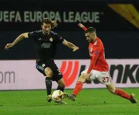 Prováveis escalações de Benfica e Dínamo Zagreb. Twitter @SLBenfica