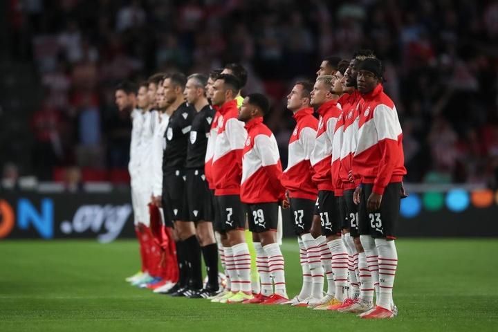 São Vlachodimos trava PSV.AFP