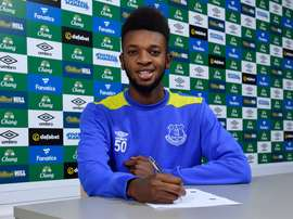Baningime says that he hasn't yet made a decision on his international future. EvertonFC