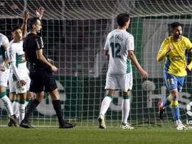 Las Palmas remontó en once minutos el 2-0 del Elche. LaLiga