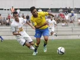 El filial canario sumó su primera victoria de la temporada. UDLasPalmas