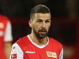 Benjamin Kohler, jugador del Unión de Berlín. Twitter