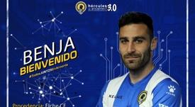 Nuevo futbolista con pasado en el Elche. CFHércules
