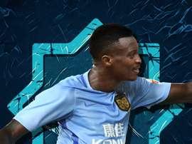 Benjamin Moukandjo has joined Fabio Capello's side Jiangsu Suning. JSSuning