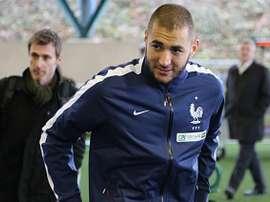 Benzema segue desejando regressar à Seleção. FFF