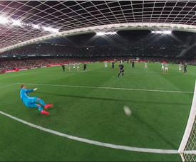 Benzema pareggia l'incontro. Movistar