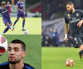 Benzema, Krkic e Kovacic entre os precoces. BeSoccer/EFE