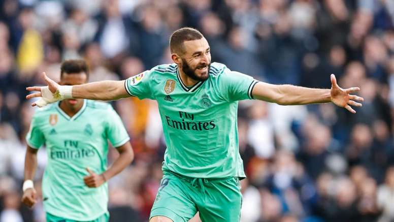Benzema firma il raddoppio del Real Madrid. Twitter/RealMadrid