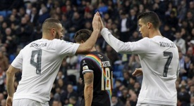 Benzema and Ronaldo continue to struggle in front of goal. EFE