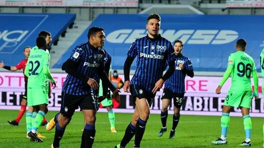 La Dea si impone sulla Lazio. EFE