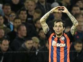 El Milan pone sus ojos en Bernard. AFP