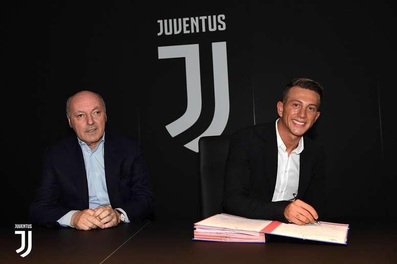 O italiano é um reforço de luxo para a Juve. JuventusFC