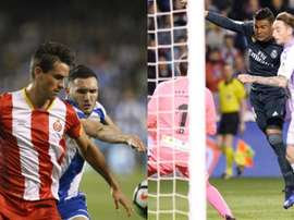 Bernardo et Calero, cibles de l'Espanyol face au possible départ d'Hermoso. EFE/BeSoccer