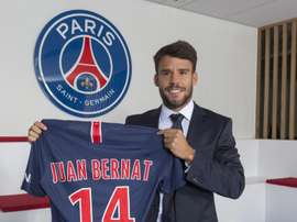 Bernat has signed a three-year deal. Twitter/PSG