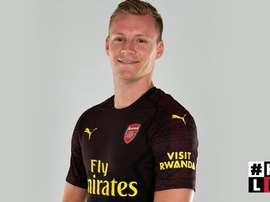 Leno, nuevo jugador del Arsenal. ArsenalFC