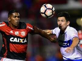 Berrío já não é mais jogador do Flamengo. AFP