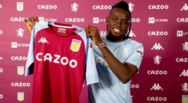 Bertrand Traoré rejoint Aston Villa. AVFC