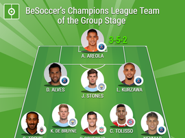 BeSoccer's Champions League Team of the Group Stage. BeSoccer