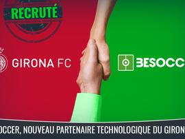 BeSoccer, nouveau partenaire de transformation digitale du Gérone FC. BeSoccer