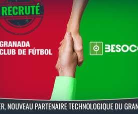 BeSoccer, nouveau partenaire technologique de Granada CF. BeSoccer