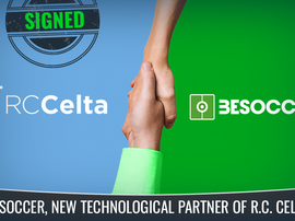 BeSoccer becomes RC Celta's new technological partner. BeSoccer