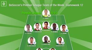 BeSoccer's Premier League Team of the Week - Gameweek 12. BeSoccer