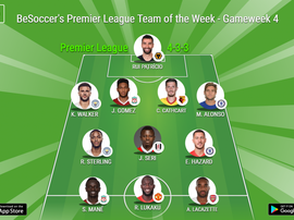 Players from eight different Premier League clubs feature this week. BeSoccer