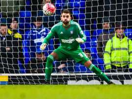 Bialkowski frustrates Canaries. EFE/Archive