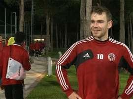 Bicfalvi vuelve a la Liga Rumana para jugar con el Dinamo de Bucarest. Twitter