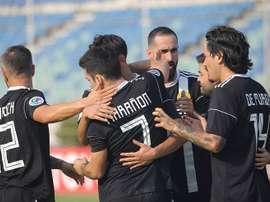 Bienve Marañón anotó el único tanto del encuentro. CeresFootball