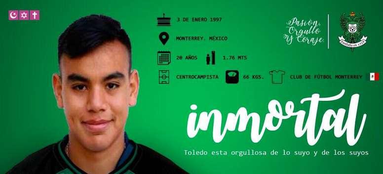 Carlos Rodríguez destaca por su gran visión de juego. Toledo