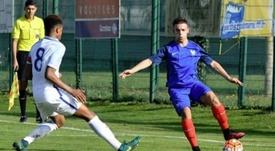 PSG y Barcelona se pelean por Bilel Hassaini. Twitter/equipedefrance