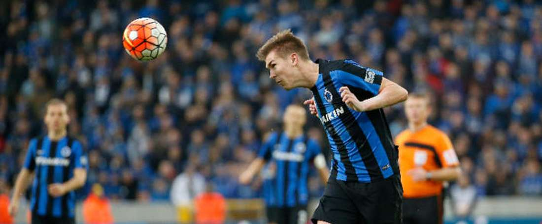 Brugge's Bjorn Engels could play for Stoke City. Brujas