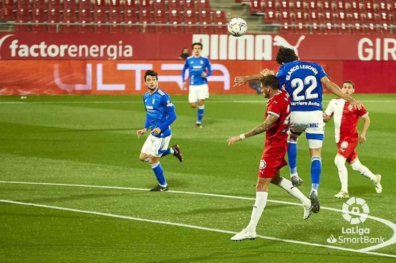 El Girona venció por la mínima. LaLiga