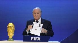 Catar terá pago 780 milhões à FIFA pelo Mundial. AFP