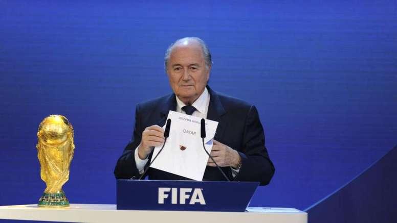'The Sunday Times' : le Qatar a payé 780 millions à la FIFA pour le Mondial. AFP