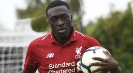 Un jeune talent de Liverpool. LiverpoolFC