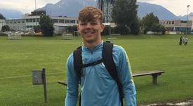 Le neveu de Gerrard sur les traces de son oncle. Twitter/BobbyDuncan999