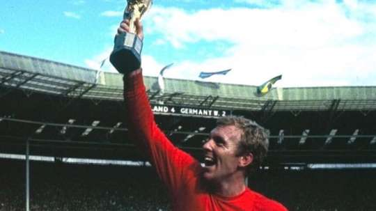 Bobby Moore has been named  Britain's Greatest Sports person of all time. TWITTER