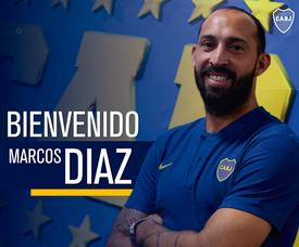 Marcos Díaz, a Boca. BocaJuniors