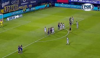 Boca logró imponerse por 3-1 a Atlético Tucumán. Captura/FoxSports