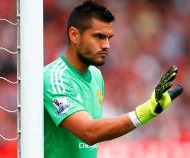 Sergio Romero saw Martial's potential. Man Utd