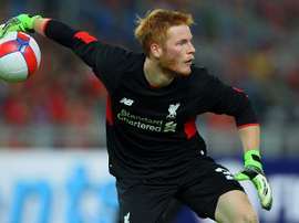 Bogdan in action for Liverpool. LiverpoolFC