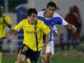 Hace unos años, el Benidorm se midió al Barça en la Copa. EFE